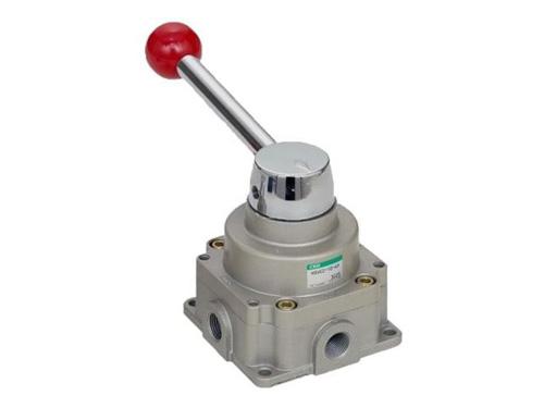 Válvula de accionamiento manual