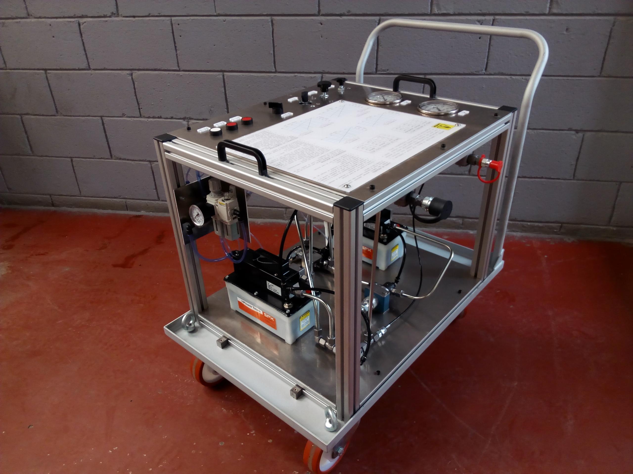 Fabricación equipo hidroneumatico alta presión